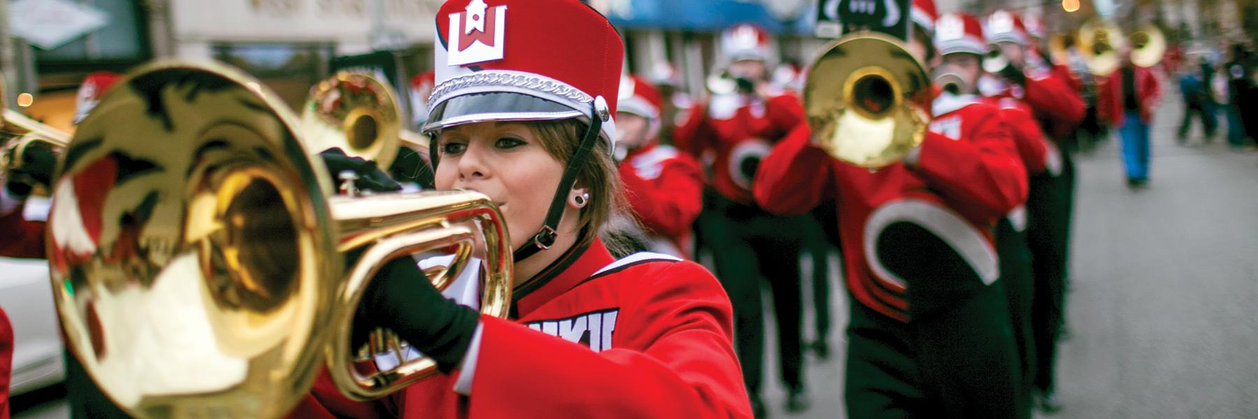 A Tuneful Tradition: The Big Red Marching Band