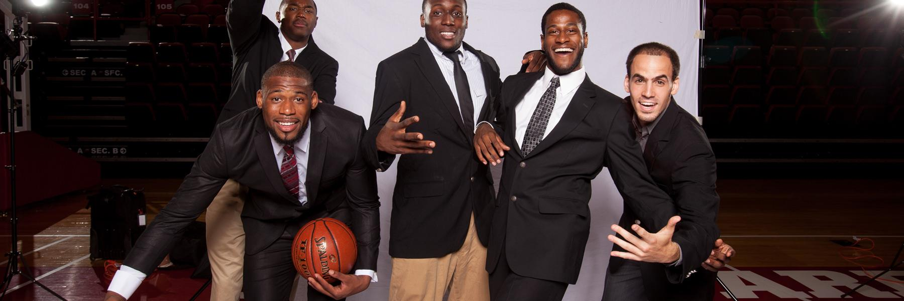 WKU Basketball Dressed for Success
