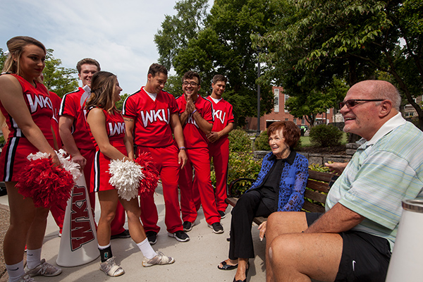 Memorializing a passion for WKU: Lifetime Members Don ('58) and Sandy Mansfield ('61)